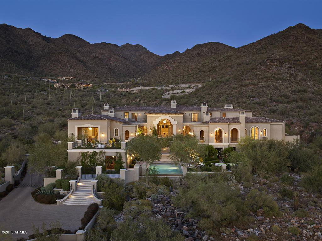 Scottsdale arizona luxury mansions for sale for Mansions for sale in scottsdale az